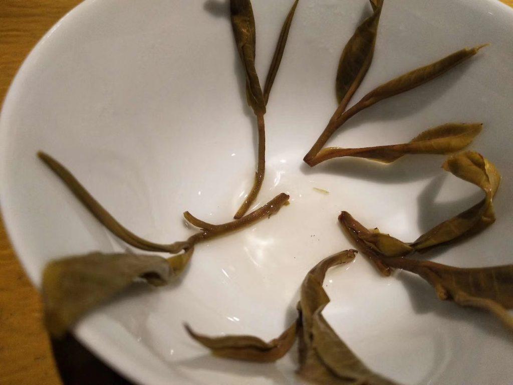 普洱熟茶里面有茶梗